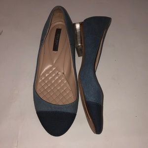 Zara Basic cap toe shoes